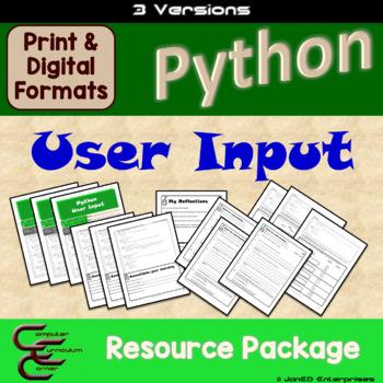 Python 5 A User Input 3 Version Package