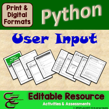 Python 5 A User Input Package