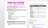 Python Coding: Zombie Survival Text Adventure Game