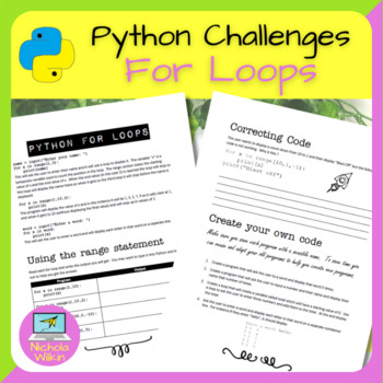 Python For Loop Practical Challenges