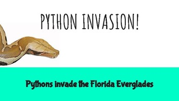 Python Invasion! Expository/Informational Writing Project - Dear Mr. Winston