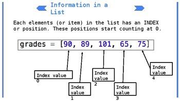 Python Lesson 4: Lists