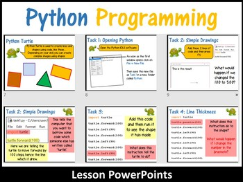 Python Programming Coding (Creating Shapes) Lesson 1 – Introduction to Python