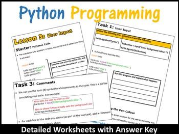 Python Programming Coding (Making Shapes) – Obtaining User Input