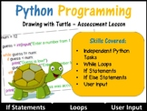 Python Programming Coding (Making Shapes) – Independent As