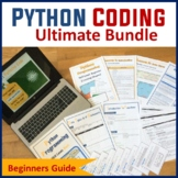 Python Programming Coding - The Ultimate Lesson Plans Bundle (Save $25)