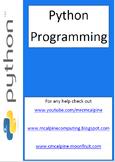 Python Programming Computer Science Software Development