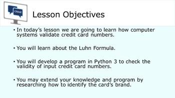 Python Programming - Credit Card Number Validator