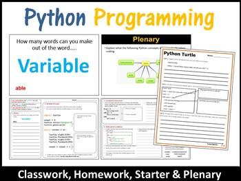 Python Programming - Drawing with Python Turtle