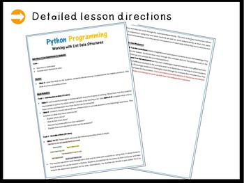 Python Programming – Working with Lists (Skill Level: Advanced)