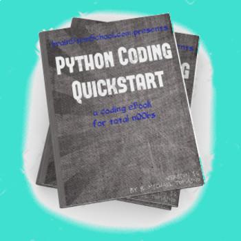 Python Coding QuickStart eBook