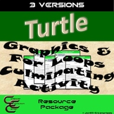Python Turtle 1D For Loops Culminating Activity 3 Version