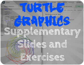 Python Code: Turtle Graphics Supplementary