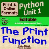 Python Unit 1 Output