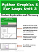 Python Unit 2 Drawing and For Loops
