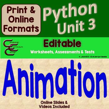 Python Unit 3 Turtle Animation