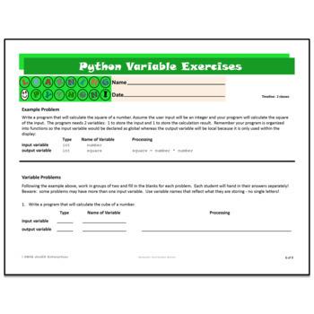 Python Unit 4 Variables