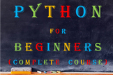 Python for Beginners - Complete Course