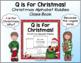 Christmas Class Book - Alphabet Riddles!