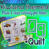 Q = Quilt {Kiwiana Themed 'Make & Take' Alphabet Set}