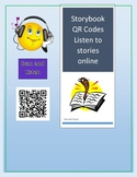 Q & R Code Cards for Storybook Listening Online Top Rated Books