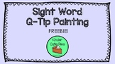 {FREE} Q-TIP Sight Words