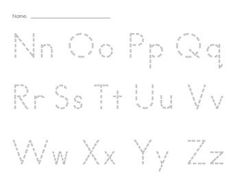 Q Tip ABC Tracers