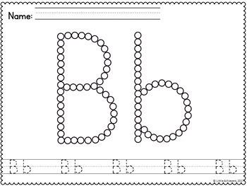 Q Tip Alphabet Painting - Alphabet Worksheets