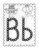 Q-Tip/Cotton Swab Alphabet