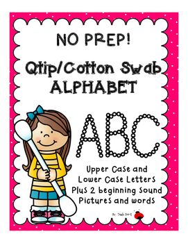 Q-Tip/Cotton Swab Alphabet