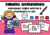 Q-Tip Paint Pages BUNDLE // Alphabet, Sight Words & Numbers 1-20