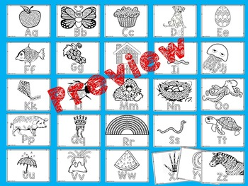 Cotton Swab Painting A-Z Printables