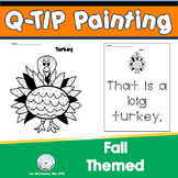 High Frequency Words Q-Tip Painting FALL