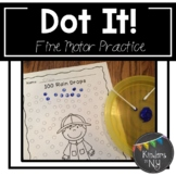 Distance Learning Q-Tip Painting: Fine Motor Practice for Young Students