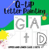 Q-Tip Painting Letters Fine Motor Practice PreK-K Full SET A-Z!