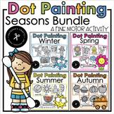 QTip Painting Seasons Bundle Distance Learning