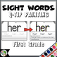 Dolch Sight Words (First Grade List) - Q-Tip Painting - High Frequency Words