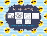 Q-Tip Painting: Summer Edition