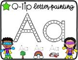 Q-Tip Spanish Letters