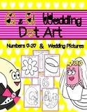 Q and U Wedding Dot Art