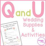 Q and U Wedding Pack