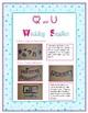 Q and U Wedding Printable Decorations/Supplies