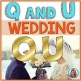 Q and U Wedding Week Activities