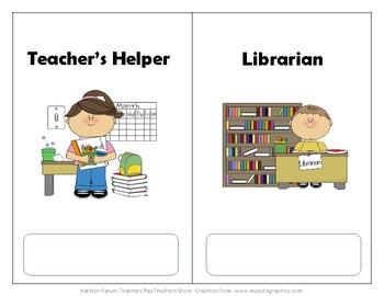 Happy Helpers (Classroom Jobs)
