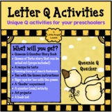 """LETTER """"Q"""" ACTIVITIES, a delightful """"Q"""" unit for young children"""