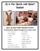 Q is for Quick & Quiet Bunny