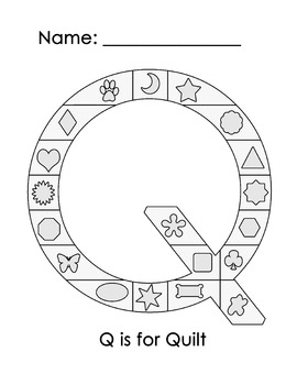 Q is for Quilt (JPEG file)