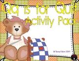 Q is for Quilt Activity Pack Alphabet Common Core Preschool Toddler