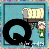 Q is for Quilts and Western Themed Unit-Preschool Lesson Plans-Distance Learning