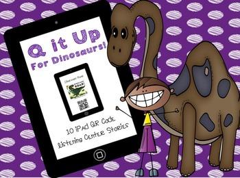 Q it Up for Dinosaurs! {10 QR Code Listening Center Books}